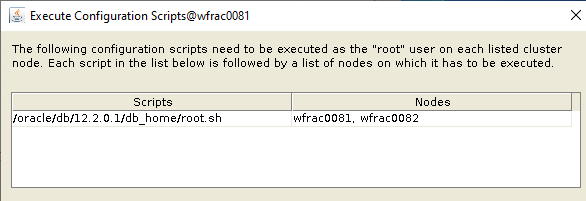 Machine generated alternative text: Execute Configuration