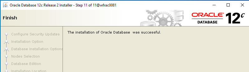 Machine generated alternative text: Oracle Database 12c